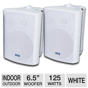 TIC Corporation ASP120W Indoor/Outdoor Speakers
