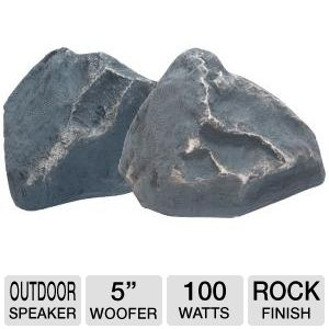 TIC Corp TFS5-SL 5&quot; Rock Speakers (Slate)