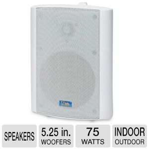 TIC Corporation ASP60W Indoor/Outdoor Speakers