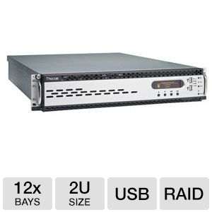 Thecus 12 Bay 2U Rackmount NAS Enclosure