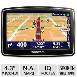 TomTom XL 340-S 4.3&quot; GPS w/ 12-mo Live Services