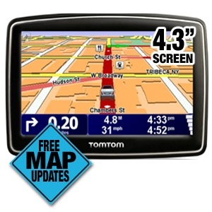 TomTom XL 340M Auto GPS