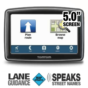 TomTom XXL550M 5&quot; GPS w/Lifetime Map Updates