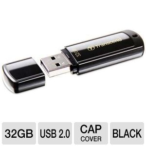 Transcend TS32GJF350 JetFlash 350 USB Flash Drive