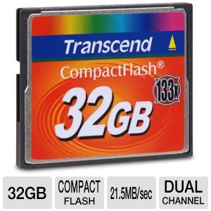 Transcend TS32GCF133 Compact Flash