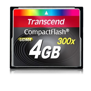 Transcend TS4GCF300 Compact Flash Card
