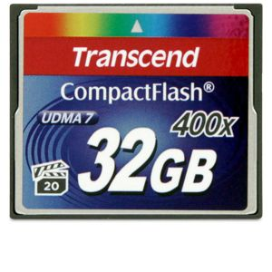 Transcend flash memory card - 32 GB