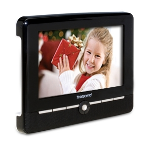 "Transcend 7"" High-Res Digital Frame with Stereo"