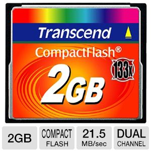 Transcend 2GB Compact Flash