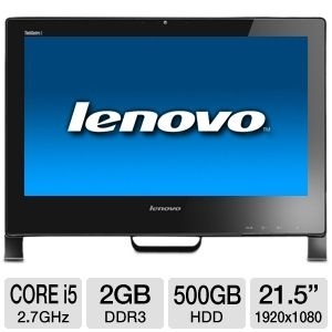 "Lenovo 21.5"" Core i5 500GB HDD All-In-One PC"