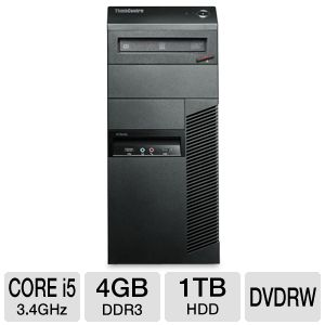 Lenovo ThinkCentre Core i5 1TB HDD 4GB Desktop PC