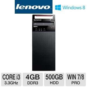 Lenovo Core i3 500GB HDD 4GB DDR3 Desktop PC