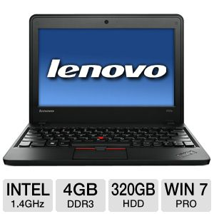"Lenovo 11.6"" Celeron 320GB HDD 4GB RAM Notebook PC"