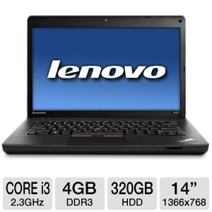 "Lenovo 14"" Core i3 320GB HDD Notebook"