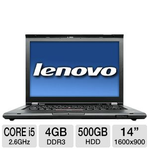 Lenovo 14&quot; Core i5 500GB HDD Notebook