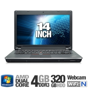 Lenovo ThinkPad Edge 4GB HDMI Dual Core Lap REFURB
