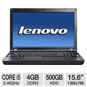 "Lenovo ThinkPad Edge E520 15.6"" Notebook PC REFURB"