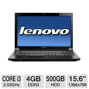 Lenovo Essential Core i3 500GB HDD Notebook PC