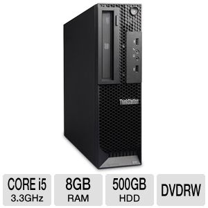 Lenovo Core i5 500GB HDD 8GB DDR3 Workstation PC