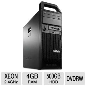 Lenovo Xeon E5 500GB HDD 4GB DDR3 Workstation PC