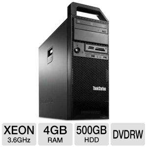 Lenovo ThinkStation Xeon E5 500GB HDD Workstation