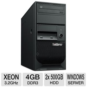 Lenovo ThinkServer TS130 Xeon E3 Tower Server