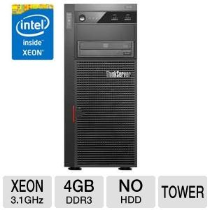 Lenovo ThinkServer TS430 Intel Xeon Tower Server