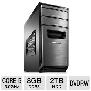 Lenovo K410 Core i5, 8GB, 2TB HDD Desktop PC