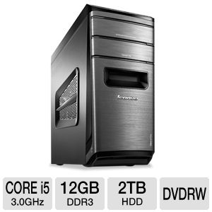 Lenovo K430 Core i5, 12GB, 2TB HDD Desktop PC