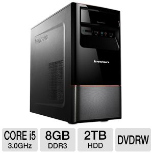 Lenovo H430 Core i5, 8GB, 2TB HDD Desktop P REFURB