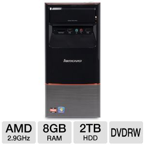 Lenovo H415 A8-3850, 2TB HDD, 8GB RAM, Desktop PC