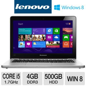 Lenovo U310 13.3&quot; Core i5 500GB+32GB SSD Ultrabook