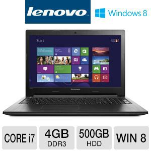 "Lenovo G500s 15.6"" Core i7 500GB HDD Notebook"