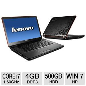 "Lenovo IdeaPad Y560 15.6"" 3D-Ready Notebook"