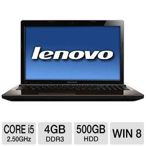 Lenovo G580 Core i5 500GB HDD 4GB DDR3 Note REFURB