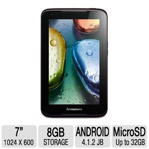 Lenovo IdeaTab A1000 Android OS Internet Ta REFURB