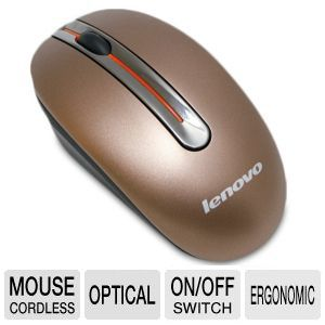 Lenovo N3903A Wireless Mouse w/ Ergonomic Design