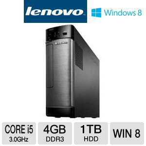 Lenovo Core i5 1TB HDD 4GB RAM Desktop PC