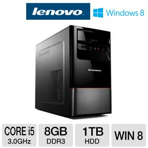 Lenovo Core i5 1TB 8GB RAM HDD Desktop PC