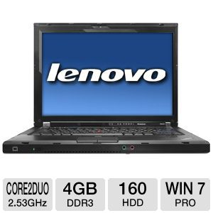 "Lenovo R400 14.1"" Core 2 Duo 160GB Notebook"