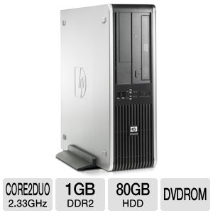 HP Compaq Core 2 Duo Desktop PC