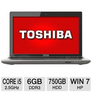 "Toshiba Satellite P875 17.3"" Core i5 750GB Laptop"