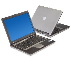 "Dell Latitude D620 14.1"" Silver Laptop (Off-Lease)"