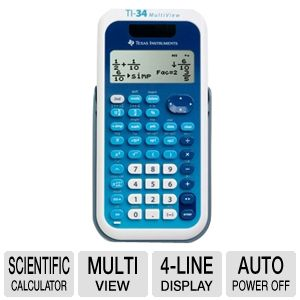 Texas Instruments TI34 MultiView Sci Calculator