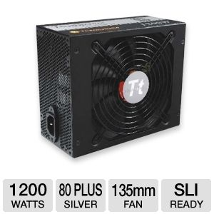 Thermaltake 1200W Modular 80 Plus Silver PSU 