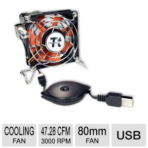 Thermaltake A1888 Mobile Fan II External USB Fan