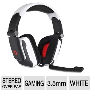 Thermaltake Tt eSports White Shock Gaming Headset