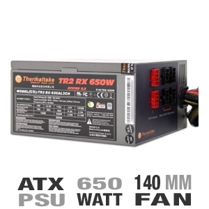 Thermaltake TRX-650M TR2 RX 650-Watt Modular Power