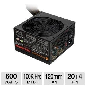 Thermaltake W0388RU 600W TR2 Series Power Supply