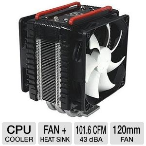 Thermaltake CLP0564 Frio Dual 120mm CPU Cooler
